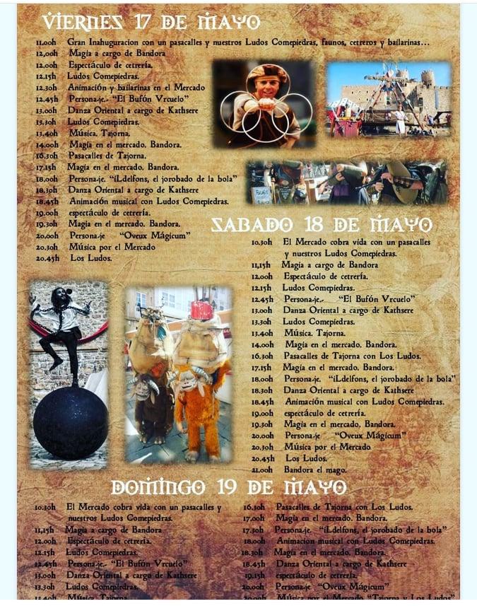 Programa de la Feria Medieval de Behobia 2019