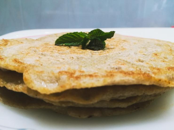Tortitas de trigo sarraceno y mijo