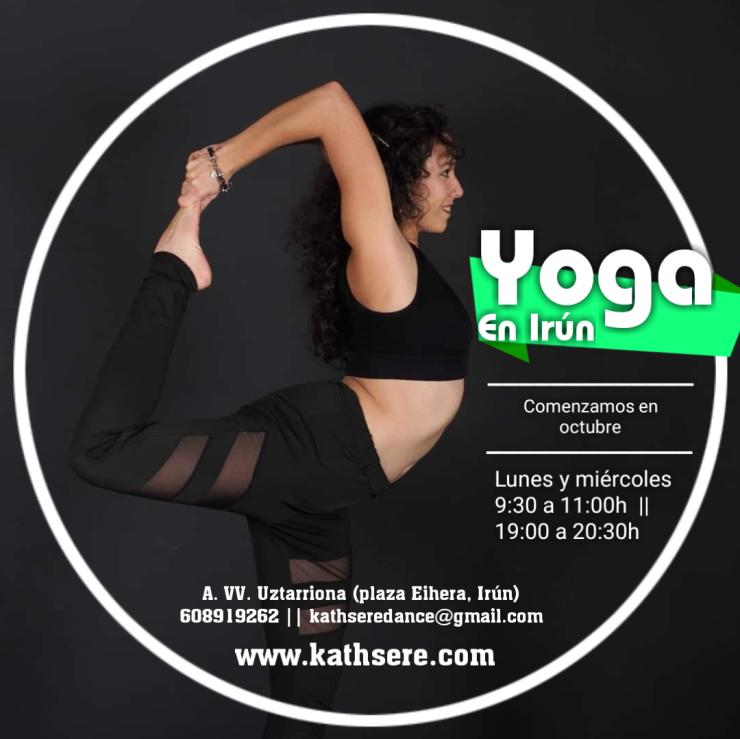 Clases de yoga en Irún 2019 - 2020