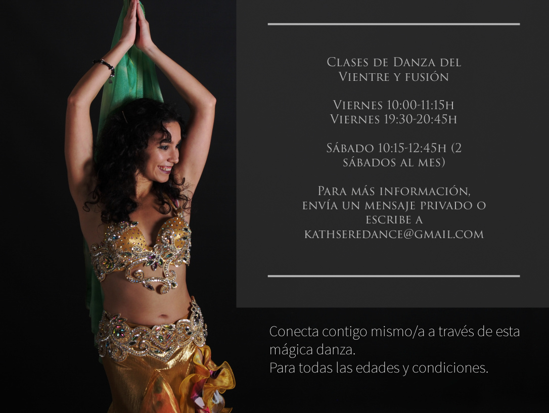Nuevo curso de danza del vientre en Irún