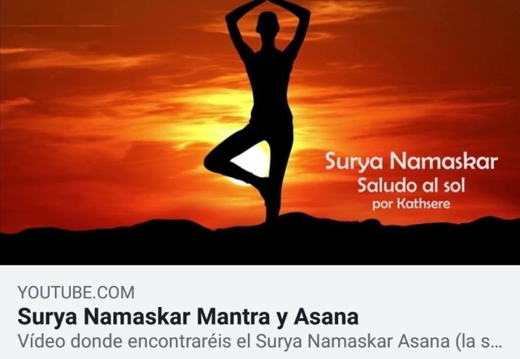 Surya Namaskar Asana y Mantra por Kathsere