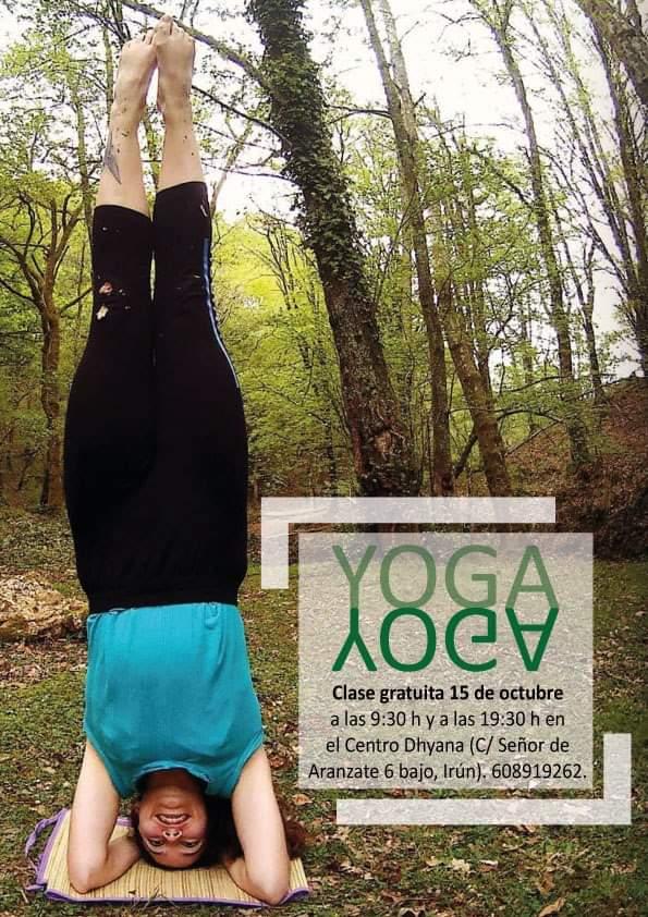 Clase Gratuita De Yoga en Irún
