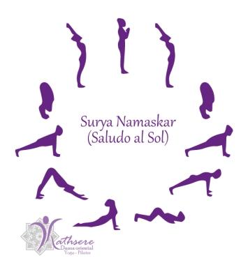 Saludo al Sol (Surya Namaskar Asana) por Kathsere