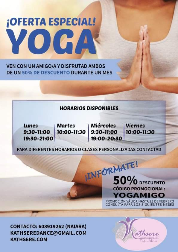 50% de descuento en Yoga en Irún