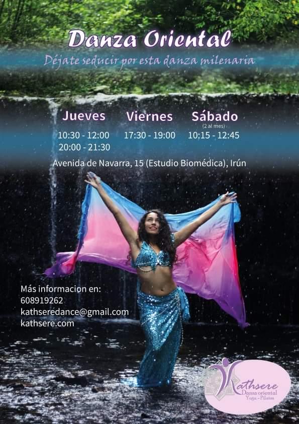 Danza del vientre en Irún