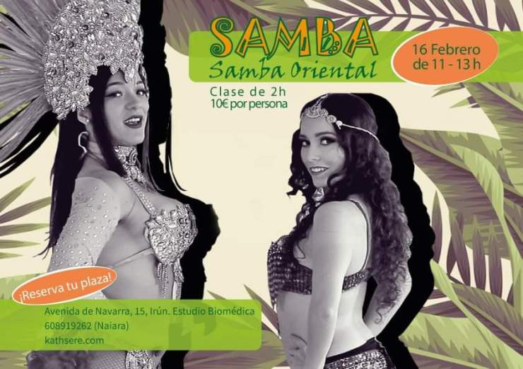 Samba + Samba Oriental en Irún